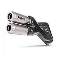 [해외]아크라포빅 머플러 Titanium&Carbon Multistrada 950/1200 17-18 Silver / Black