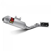 [해외]아크라포빅 머플러 Racing Steel&Titanium RM-Z 250 Silver