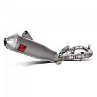 [해외]아크라포빅 머플러 Racing Steel&Titanium YZ 450F/WR 450F Silver