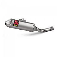 [해외]아크라포빅 머플러 Titanium&Carbon KX 250F 17-18 Silver
