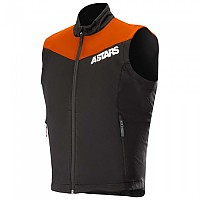 [해외]알파인스타 Session Race Vest Orange Fluo Black