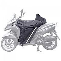[해외]백스터 Leg Cover Apron Winzip Yamaha Tricity Black