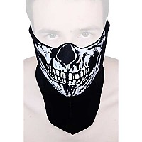 [해외]HELD Neck Warmer Skull