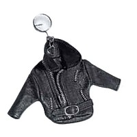 [해외]HELD Key Rings In Jacket Style Black