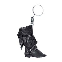 [해외]HELD Key Rings In Boots Style Black