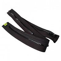 [해외]MACNA Connection Zipper Adapter Short Jacket-Long Pants Black