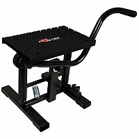 [해외]RTECH Foot Lift Bike Stand With Cross TPU Plate Black