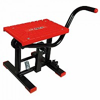 [해외]RTECH Foot Lift Bike Stand With Cross TPU Plate Red