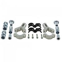 [해외]RTECH Solid Forged Alloy Universal Mounting Kit Silver