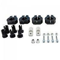 [해외]RTECH Easy Universal Mounting Kit Black / Silver