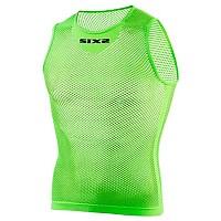 [해외]SIXS Netted Tank Top Green Fluo