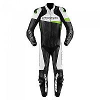 [해외]스피디 Race Warrior Perforated Pro Black / Kawasaki Green