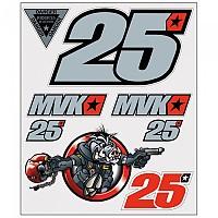 [해외]VR46 Stickers Big Set Classic Multicolor