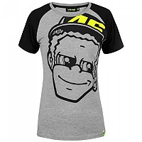 [해외]VR46 Dottorino T Shirt Classic Melange Grey