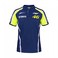 [해외]VR46 Racing Polo Yamaha Blue Royal Yamaha