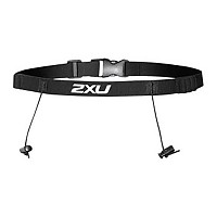 [해외]2XU Race Belt With Loops Black / Black