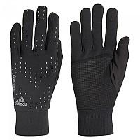 [해외]아디다스 Run Gloves Black / Black / Metal Silver