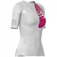 [해외]컴프레스포트 Triathlon Postural Aero S/S Top White