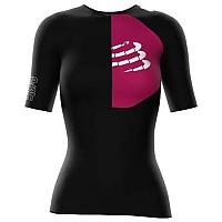 [해외]컴프레스포트 Triathlon Postural Aero S/S Top Black