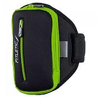 [해외]FITLETIC Armband Dual Pouch black / green