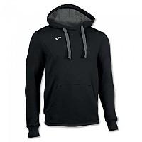 [해외]조마 Sweatshirt Hooded Comfort Black / Dark Melange