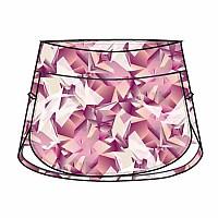 [해외]조마 Skirt Tropical White / Purple
