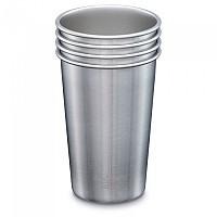 [해외]KLEAN KANTEEN Kanteen Pint Cup 4 Pack 470ml Brushed Stainless