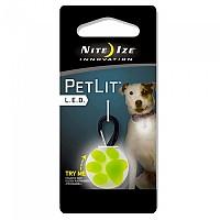 [해외]NITE IZE Petlit Led Collar Light Lime Paw