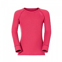 [해외]오들로 Shirt L/S Crew Neck Kids Warm Magenta