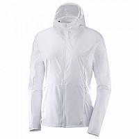 [해외]살로몬 Elevate Aero Full Zip Mid White
