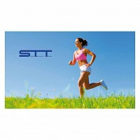 [해외]STT SPORT Crazy Towel Runner Compact Blue / Green
