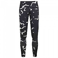 [해외]노스페이스 24/7 Mid Rise Printed Tight TNF Black