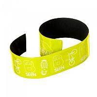 [해외]TRESPASS Snapper Reflective Wrist Wraps Hi Visibility Green