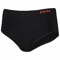 [해외]ZONE3 Seamless Support Briefs Black / Orange