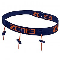 [해외]ZONE3 Race Belt With Gel Loops Navy / Orange