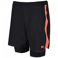 [해외]ZONE3 RX3 Compression 2 In 1 Shorts Black / Orange