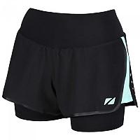 [해외]ZONE3 RX3 Compression 2 In 1 Shorts Black / Mint