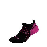 [해외]ZOOT No-Show Socks Black / Pink