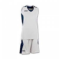 [해외]조마 Set Space Sleeveless Woman White / Navy