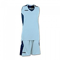 [해외]조마 Set Space Sleeveless Woman Sky Blue / Navy
