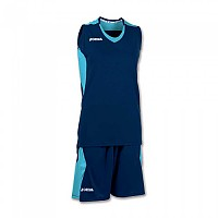 [해외]조마 Set Space Sleeveless Woman Navy / Turquoise