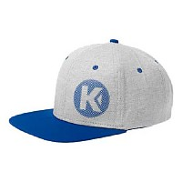 [해외]KEMPA Fly High Flat Cap Grey Melange / Royal