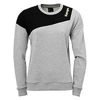 [해외]KEMPA Caution Sweatshirt Light Grey Melange / Black