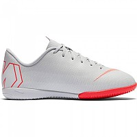 [해외]나이키 Mercurialx Vapor XII Academy GS IC Wolf Grey / Lt Crimson / Pure Platinum