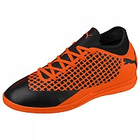 [해외]푸마 Future 2.4 IT Puma Black / Shocking Orange