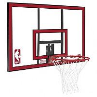 [해외]SPALDING NBA Polycarbonat Backboard Clear / Red