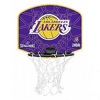 [해외]SPALDING Nba Miniboard L.A. Lakers Yellow / Purple
