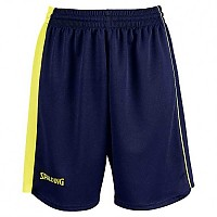 [해외]SPALDING 4Her II Shorts Woman Navy / Fluo Yellow