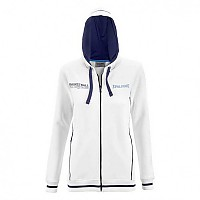 [해외]SPALDING Team Jacket 4Her Woman White / Navy