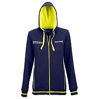 [해외]SPALDING Team Jacket 4Her Woman Navy / Fluo Yellow